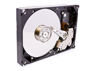 hard drive: view of a hard drive