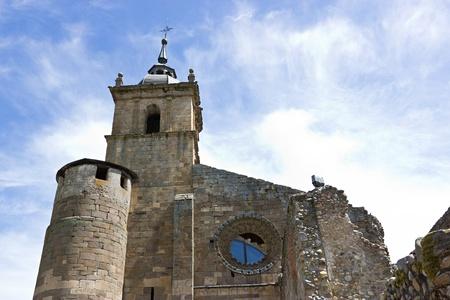 Monastery of Carracedo on Bierzo,Spain Stock Photo