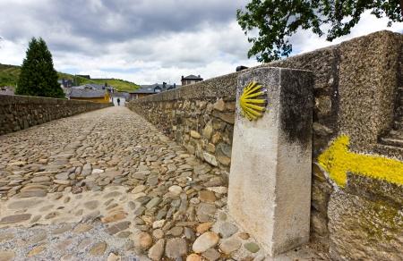 Roman bridge in Molinaseca,El Bierzo