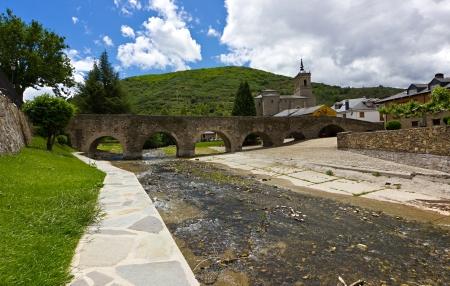 Roman bridge in Molinaseca,Bierzo