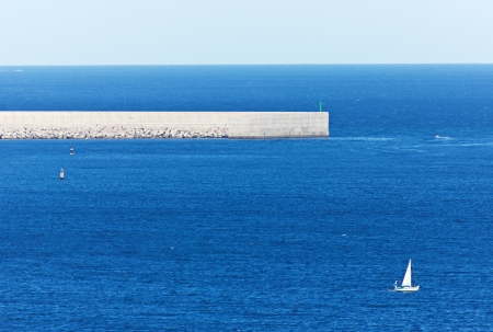 cantabrian: Dock in the Cantabrian Sea
