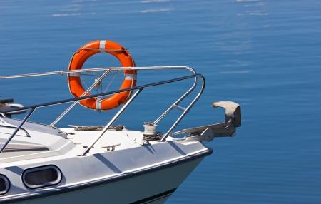 lifeguard on luxury yacht