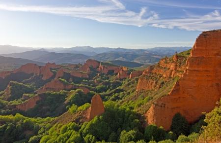 Las Medulas  ancient Roman mines, Leon, Spain Stock Photo