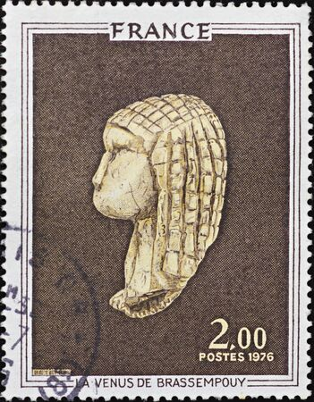 FRANCE - CIRCA 1976: A stamp printed in France,shows image of