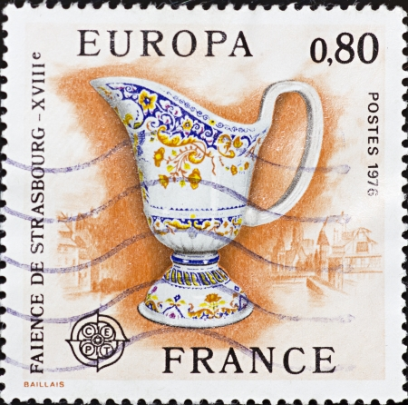 FRANCE - CIRCA 1976: A stamp printed in France,shows image of   Stock Photo - 15951132