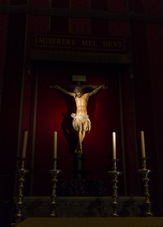 Jesus Christ on the cross, Seville Cathedral