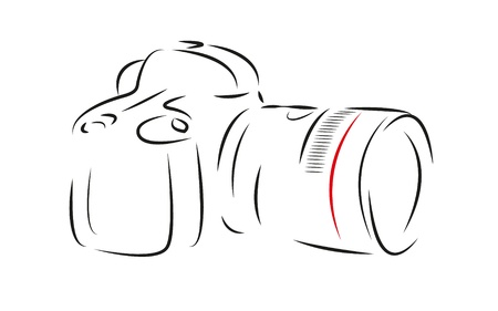 Digital camera,draw