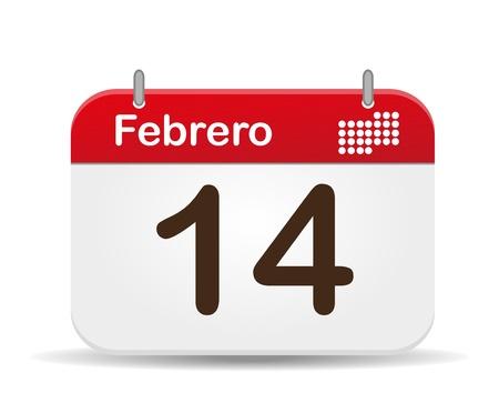 månader: 14 february calendar,Valentine�s Day