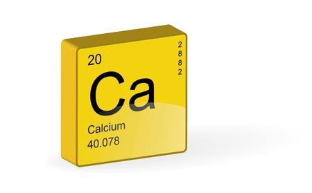calcium: Calcium Element,vector illustration