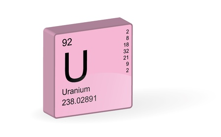 uranium: Uranium Element,illustration