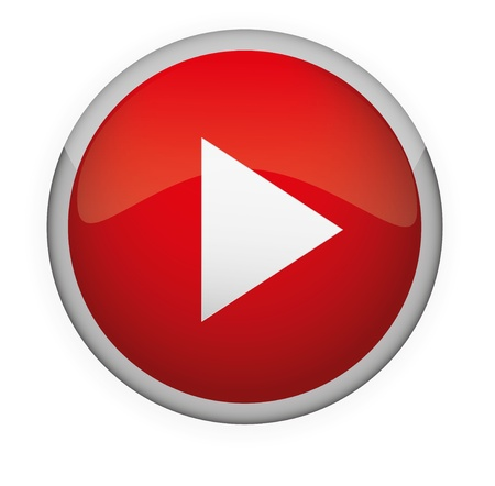 Glossy media button,Play   Vector Stock Vector - 17831012