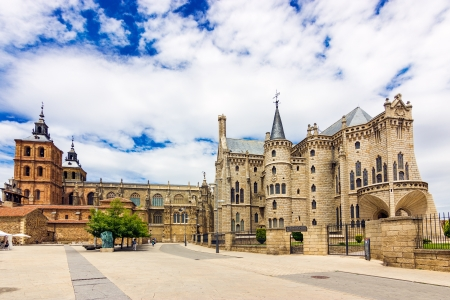 Gaudi Palace and Cathedral of Astorga,Spain