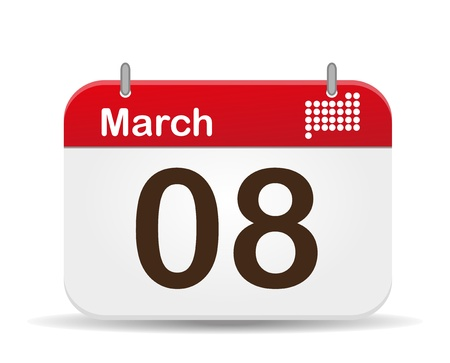 anthem: 08 March Calendar,Woman´s Day