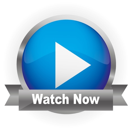 Glossy Media Button,Play with Watch Now  Vector illustration  Illustration