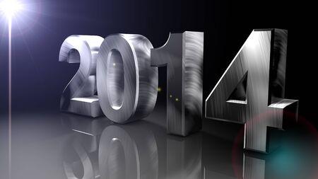 A�o Nuevo 2014, Render 3D