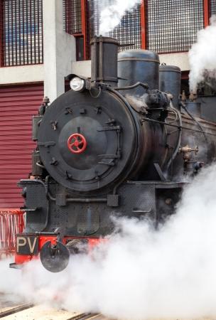 Negro Vintage y Red vapor Tren El�ctrico