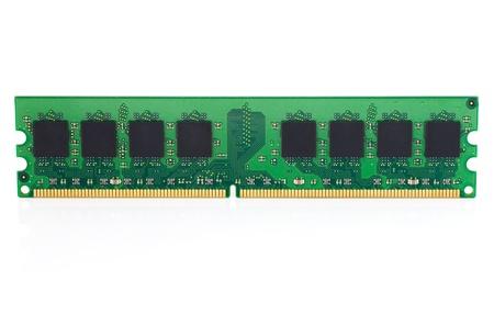 dimm: SDRAM Memory Modules iSolated on White  Stock Photo