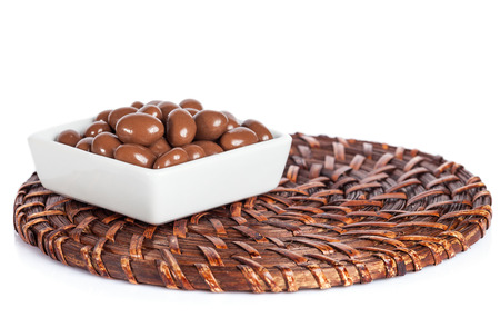 Milk Chocolate Sweets iSolated On White Background.