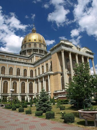 largest: The Sanctuary is Polands largest church, the seventh largest in Europe and eleventh in the World.