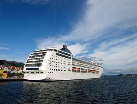 Ferry MSC Opera in Stavanger, Norway. Photo taken on: August 18th, 2009 Reklamní fotografie