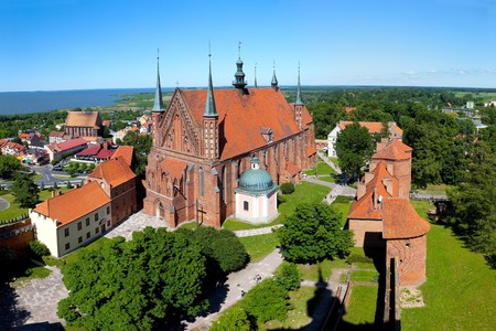 copernicus: Frombork Cathedral, a place where he worked Copernicus.