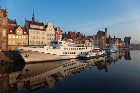 The riverside of Gdansk, Poland. Stock Photo - 7548754