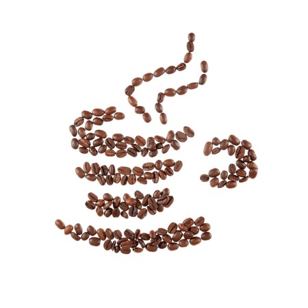 Great aromatic coffee beans cup. Stock Photo - 7610453
