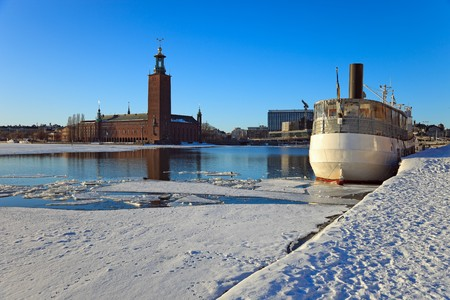 City Hall in Stockholm, Sweden. photo