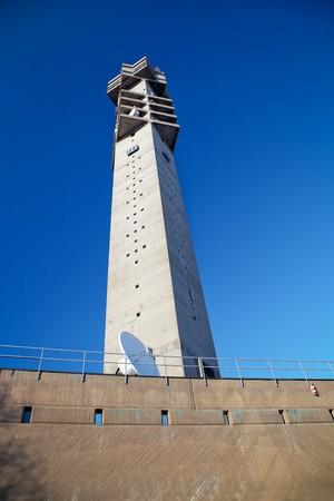 TV transmitter tower in Stockholm, Sweden. photo