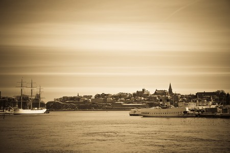 Stockholm at the turn of the century. Stock Photo - 8202946