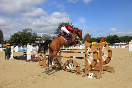 The international equestrian show-jumping - CSIO in Sopot, Poland.  Photo taken on: June 11, 2011