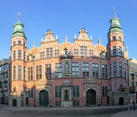 armory: The Great Armory dates back to the early 1600s  Gdansk, Poland  Editorial