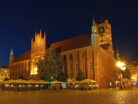 Old Town Hall in Torun is one of the finest examples of medieval architecture in central Europe, the bourgeoisie. It was built at the turn of the thirteenth and fourteenth century. photo