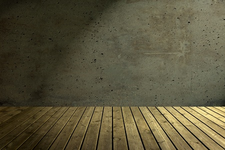 attic: Old dark attic as a background.