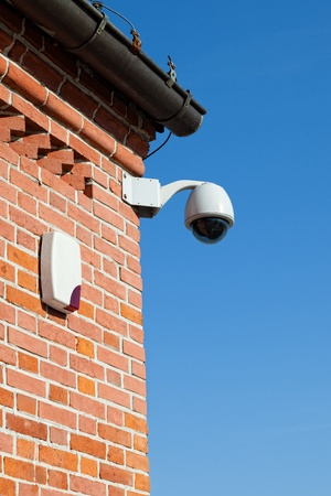 siren: Secure area and Siren - industrial monitoring cctv  Editorial