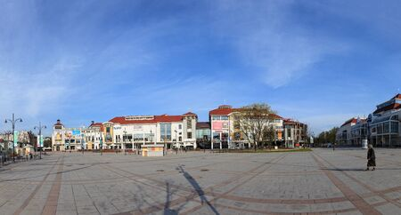 Wide panoramic view of Sopot, Poland.  Stock Photo - 13365043