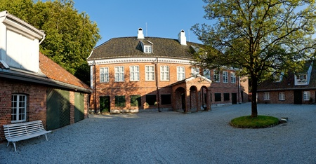 manor: The Royal Manor Ledaal in Stavanger, Norway Editorial