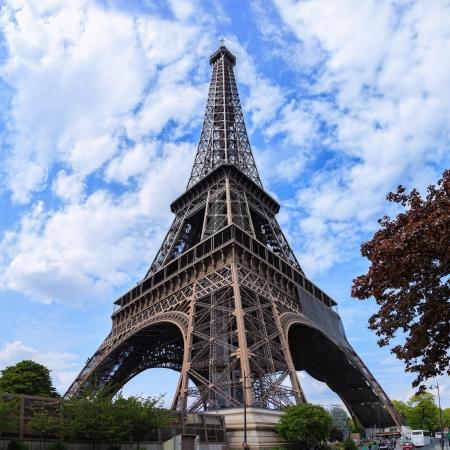 Monumental Eiffel Tower in Paris, France  Stock Photo - 14499954