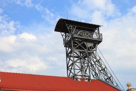 poppet: Mine shaft in the famous salt mine in Wieliczka, Poland. Editorial
