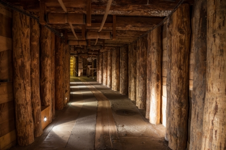 entered: Wieliczka Salt Mine operated continuously since the 13th century. Underground Mine has over 300 corridors and 300 chambers. Are arranged in nine levels, the  latter of which is located at a depth of 327 meters. In 1978, he entered on the UNESCO World Heri Editorial