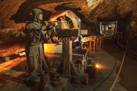 Wieliczka Salt Mine operated continuously since the 13th century. Underground Mine has over 300 corridors and 300 chambers. Are arranged in nine levels, the  latter of which is located at a depth of 327 meters. In 1978, he entered on the UNESCO World Heri Editorial