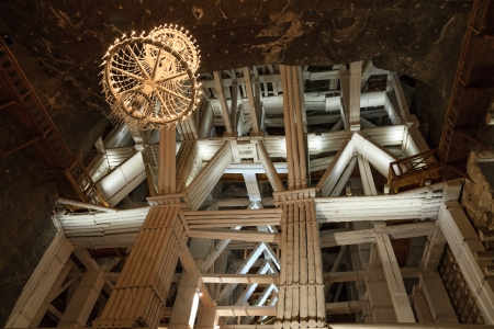 latter: Wieliczka Salt Mine operated continuously since the 13th century. Underground Mine has over 300 corridors and 300 chambers. Are arranged in nine levels, the  latter of which is located at a depth of 327 meters. In 1978, he entered on the UNESCO World Heri Editorial