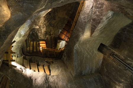 continuously: Wieliczka Salt Mine operated continuously since the 13th century. Underground Mine has over 300 corridors and 300 chambers. Are arranged in nine levels, the  latter of which is located at a depth of 327 meters. In 1978, he entered on the UNESCO World Heri Editorial