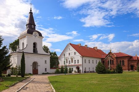 annunciation: The Gate-Belltower in Monastery of the Annunciation in Suprasl in North Eastern Poland.