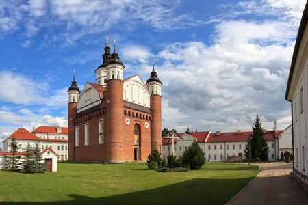 The Monastery of the Annunciation in Suprasl in North Eastern Poland.
