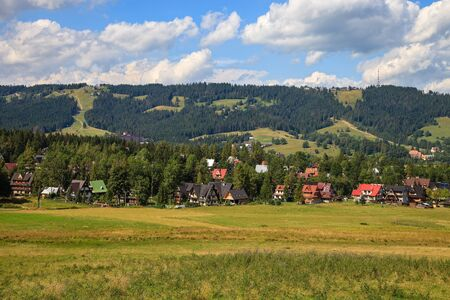 Gubalowka view near Zakopane, Poland  Stock Photo - 15408227