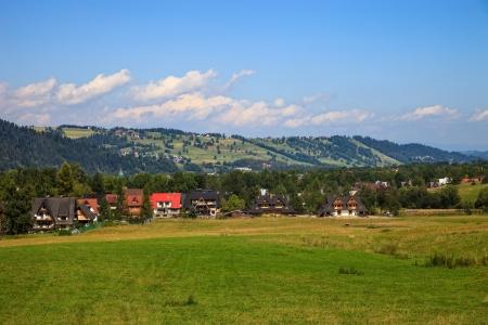 Gubalowka view near Zakopane, Poland  Stock Photo - 15408226