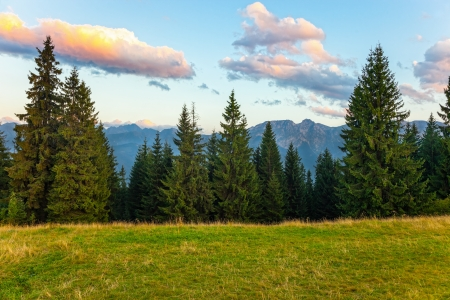 Sommerabend Tatra, Polen