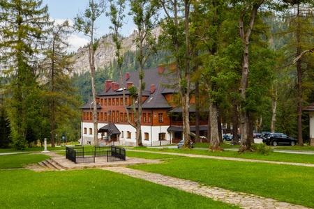 Old park in Kuznice, Poland. Stock Photo - 15791621