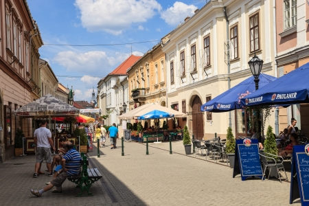 Beautiful town of Eger in Hungary. Photo taken on: August 15th, 2012